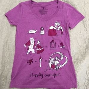 Disney store happily ever after tshirt